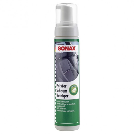 sonax foam upholstery cleaner without propellant. Black Bedroom Furniture Sets. Home Design Ideas