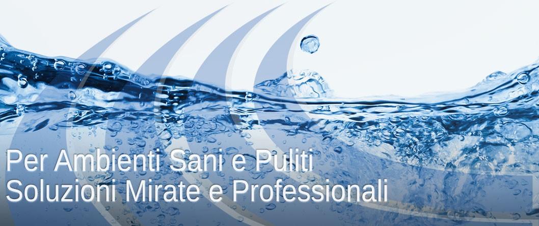 Detergenza professionale per ambienti sani e puliti