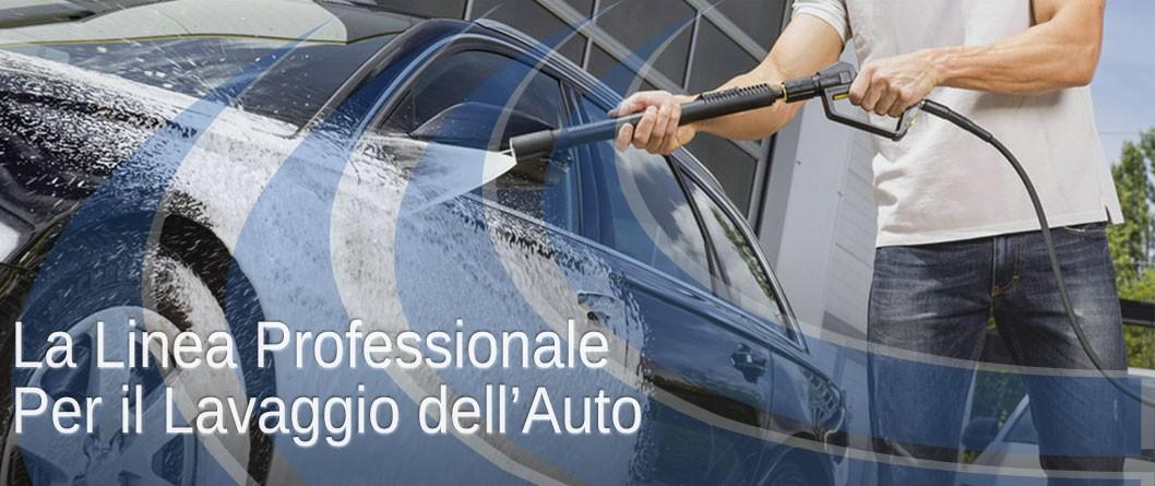 Linea professionale per il lavaggio dell'auto